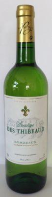 Prestige des Thibeaud - Bordeaux Blanc