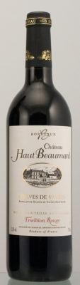Château HAUT BEAUMARD – Rouge AOC Graves de Vayres